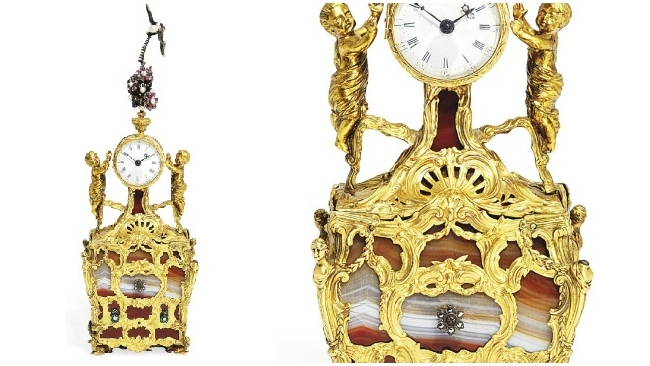 Часы Павла I на аукционе Christies продали почти за $1 млн