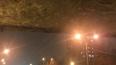 На Ланском шоссе от моста на проезжающую машину свалился ...