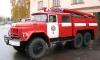 Ночью из пожара в Выборгском районе спасли старушку