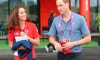 Американский баскетболист обнял Кейт Миддлтон, нарушив королевский протокол