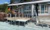 ККИ разобрал незаконное летнее кафе в Комарово