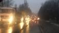Гигантская пробка собралась на Колтушском шоссе около ...