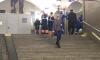 """Пассажир упал на пути на станции метро """"Достоевская"""" в Петербурге"""