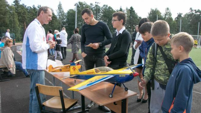 В День знаний для выборгских школьников устроили ярмарку досуга