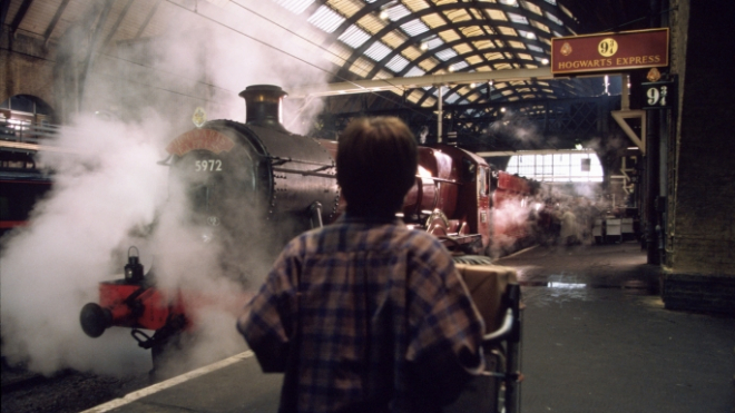 В Петербурге появилась платформа 9 ¾ из книг о Гарри Поттере
