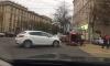 Гламурная автоледи перевернула красную иномарку в центре Воронежа