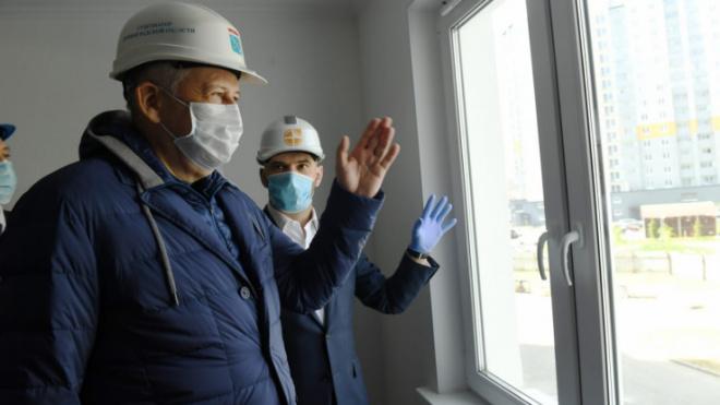 Александр Дрозденко проинспектировал несколько строек в Ломоносовском районе