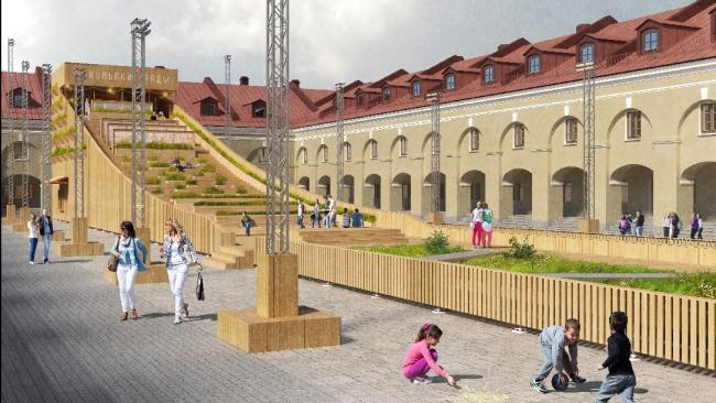 Никольские ряды откроют 8 мая после реконструкции