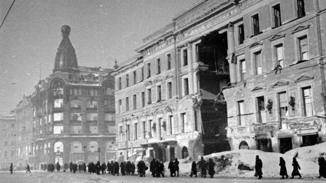 Петербуржцы протестуютпротив разрушения памятных мест блокады