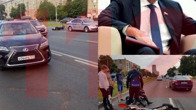 СМИ: Депутат Госдумы Николай Герасименко сбил мотоциклиста в Москве