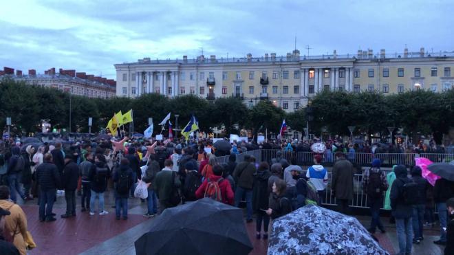 Власти Петербурга планируют увеличить количество площадок, на которых можно проводить митинги