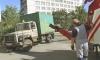 Борьба с грузовым автохламом в Приморском районе