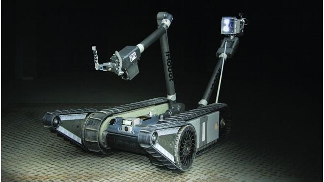 За порядком на стадионах будут следить роботы