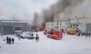 В Невском районе Петербурга горит склад