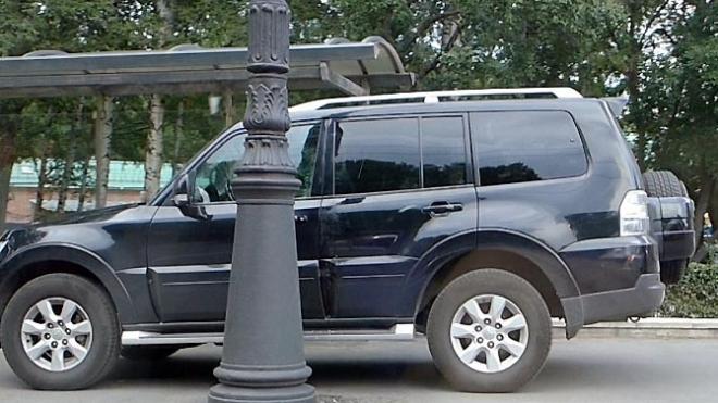 На Каменноостровском проспекте водителя стошнило прямо перед постом ГИБДД