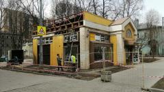 В трех районах Петербурга снесли четыре незаконные торговые точки