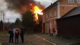 Спасатели больше часа тушили дом в в Ломоносовском ...