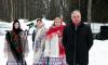 В Калининском микрорайоне отметили последний день Масленицы