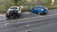 В Колпино от лобового удара погибли двое