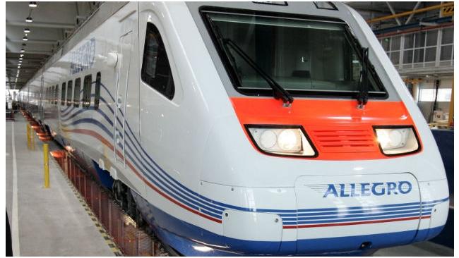 """Поезд """"Аллегро"""" прибудет в Петербург с опозданием на 40 минут"""