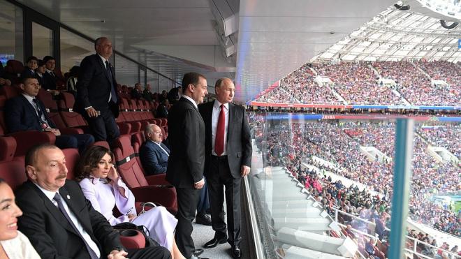 Из-за напряженного графика Путин не может посетить ни один матч ЧМ-2018