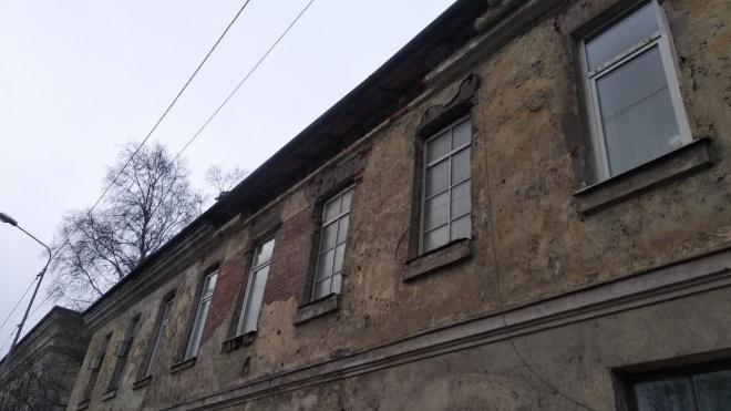В Выборге частично обрушилось историческое здание: объект находится в собственности Росимущества