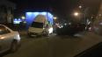 На Руднева перевернулась машина, а иномарка взобралась ...