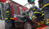 BMW насмерть сбил ребенка на тротуаре, еще двое пострадали