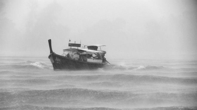 У Бали затонуло рыболовецкое судно