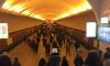 """Очевидцы: остановили движение поездов по оранжевой ветке в сторону """"Дыбенко"""""""