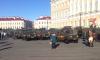 Фотофакт: Петербург готовится к параду, военная техника уже на Дворцовой
