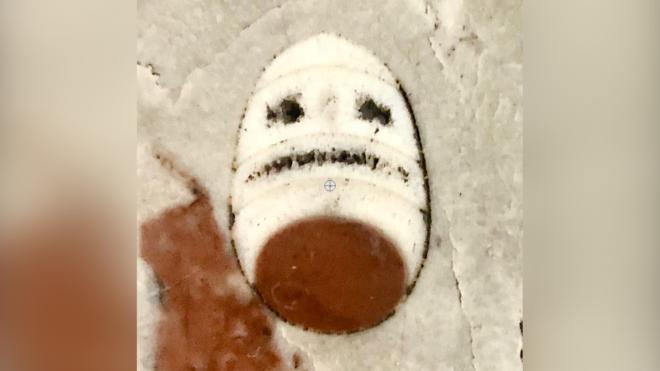 """Палеонтологи заметили на станции метро """"синей"""" ветки """"рожицу унылой мумии"""""""
