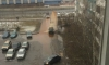 Фонтан фекалий из-под земли вылился на УАЗ в Колпино