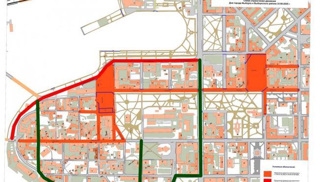 Центральные улицы Выборга перекроют для проведения Дня города