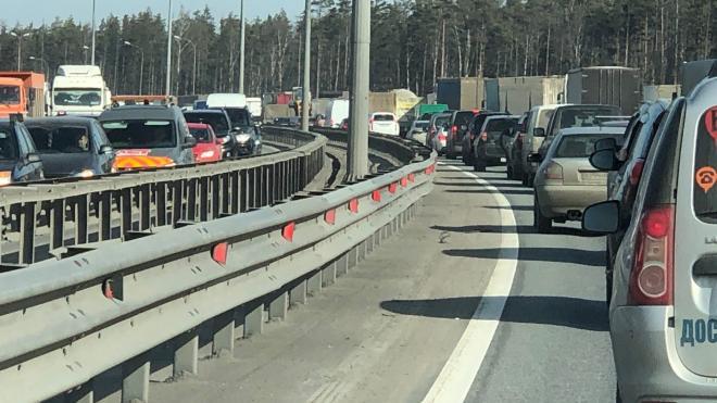 Утренние пробки во вторник в Петербурге достигли 6 баллов