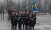 Выборгские кадеты стали лучшими в смотре строя и песни на Поклонной горе в Москве