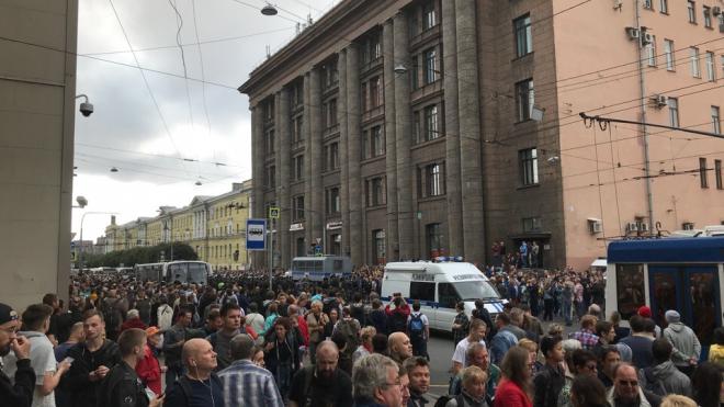"""Вице-губернатор Александр Говорунов: """"митинга на этой территории не может быть"""""""