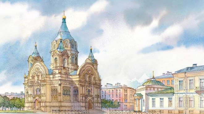 Власти Петербурга хотят воссоздать Борисоглебскую церковь на Синопской набережной