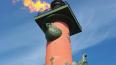 В Петербурге в День ВМФ зажгут факелы Ростральных колонн