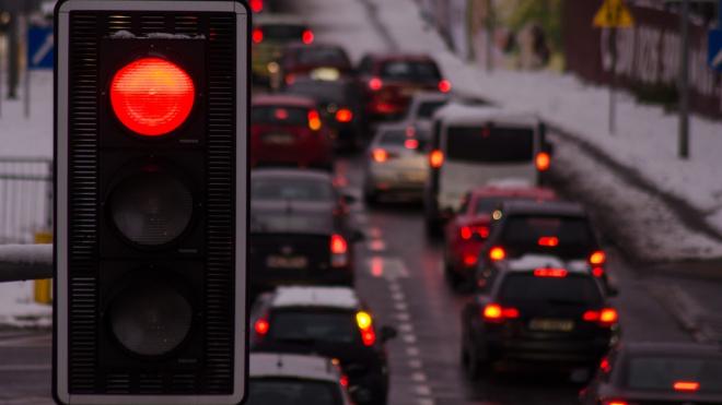Десять из десяти: в Невском районе пробки достигли 10 баллов