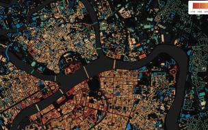 Картограф из Петербурга создал проект с возрастом домов города