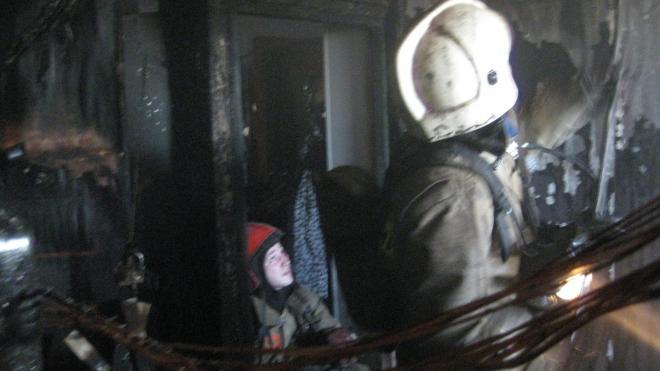 После пожара в доме на Приморском шоссе обнаружили труп пенсионера