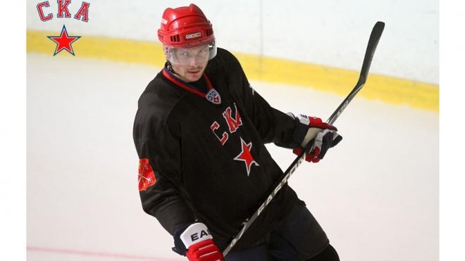 Защитник СКА Дмитрий Калинин вошел в символическую сборную КХЛ