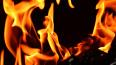 В Курортном районе загорелся жилой дом