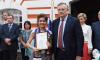 Выпускников Санкт-Петербургского юридического института Университета прокуратуры РФ поздравил губернатор Ленобласти
