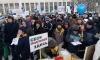 Фото: в Петербурге прошел первый митинг в защиту зеленых насаждений