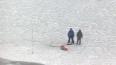 На Сахалине рыбаков сняли с дрейфующей льдины