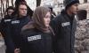 """Петербургские активисты """"Весны"""" провели акцию в поддержку """"политических заключенных"""", взятых перед выборами 18 марта"""
