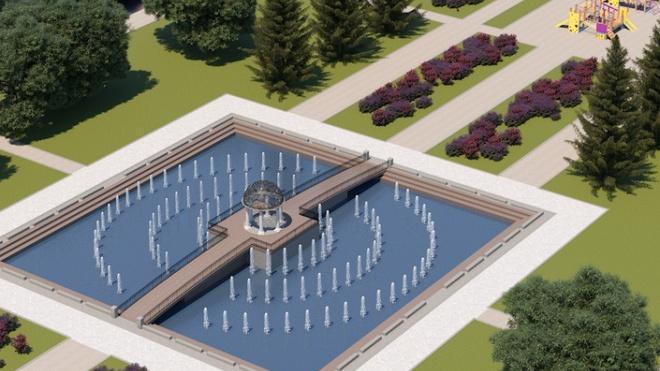 Фонтан в Любашинском саду могут открыть уже в середине августа