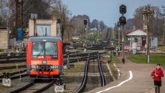 ОЖД в январе-апреле на 4,4% увеличила перевозку пассажиров